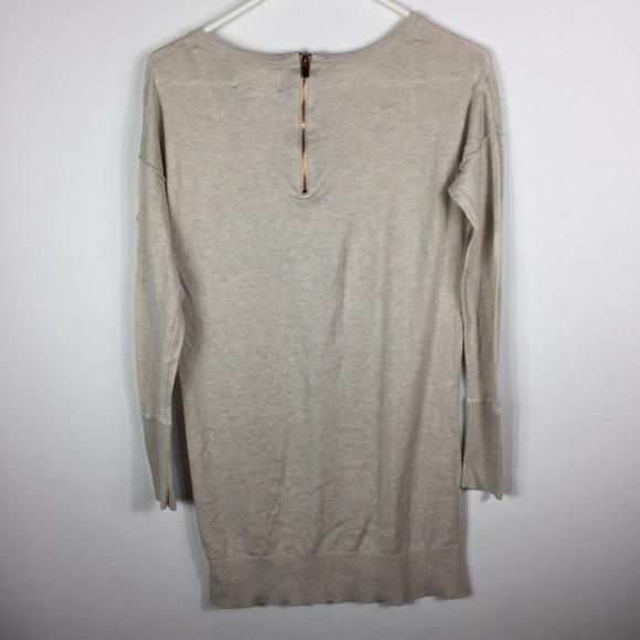 Ruby Moon -Anthropologie - Beige Tunic Sweater